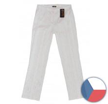 Kalhoty ŽINILKA - bílé
