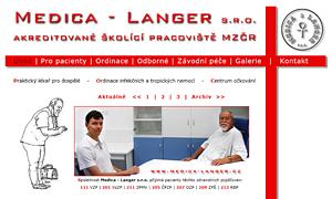 Praktický lékař pro dospělé - MUDr. Langer Jaromír - Medica-Langer s.r.o.